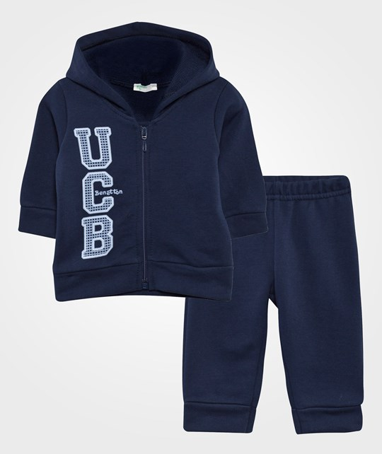 United Colors of Benetton Tracksuit Set Navy NAVY 13C