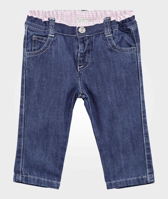 United Colors of Benetton Denim Trouser Pink PINK 911