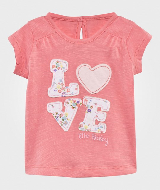United Colors of Benetton Футболка  Love T-Shirt Pink PINK 36N