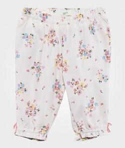 United Colors of Benetton Floral Trouser White