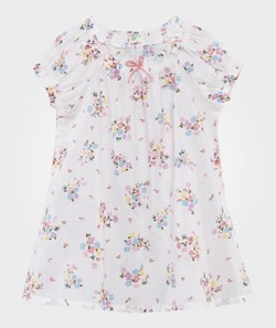 United Colors of Benetton Floral Dress White