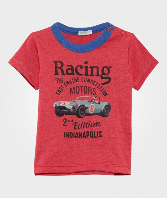 United Colors of Benetton Racing Car T-Shirt Red RED 71R