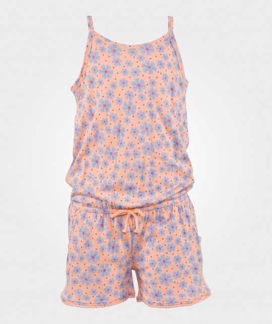 United Colors of Benetton Floral Palysuit Peach PEACH 901