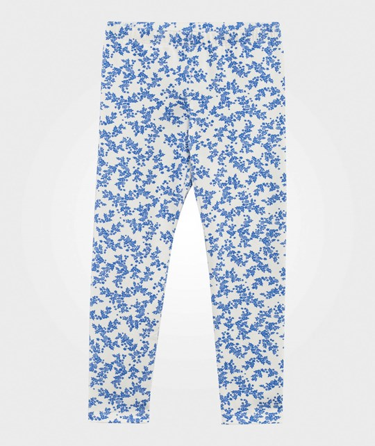 United Colors of Benetton Леггинсы  Floral Leggings White WHITE 901