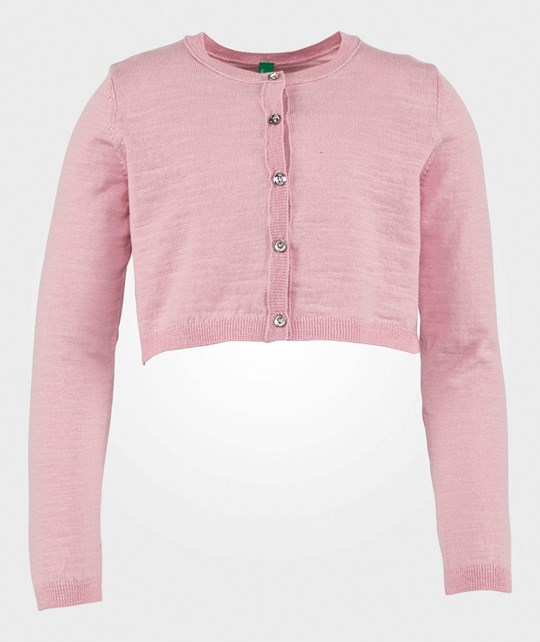United Colors of Benetton Cropped Cardigan Pink PINK 09J