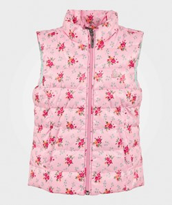 United Colors of Benetton Padded Gilet Pink