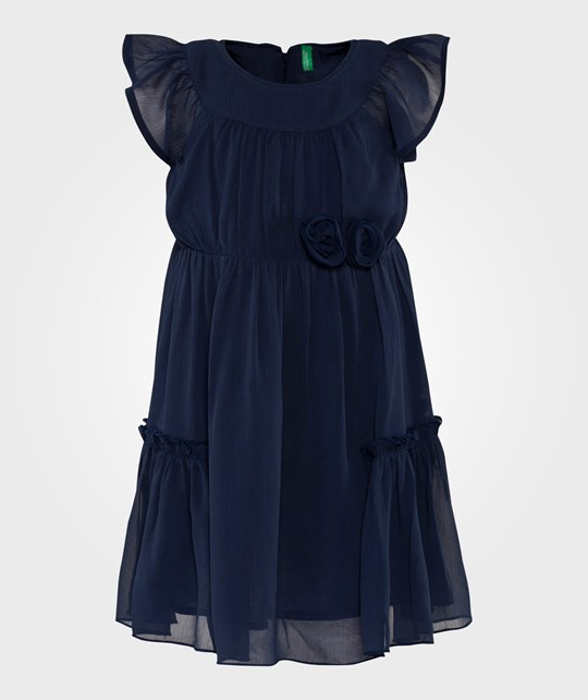 United Colors of Benetton Party Dress Navy NAVY 13C