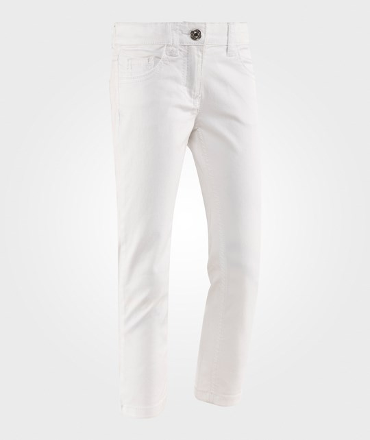 United Colors of Benetton Coloured Denim Trouser White WHITE 101