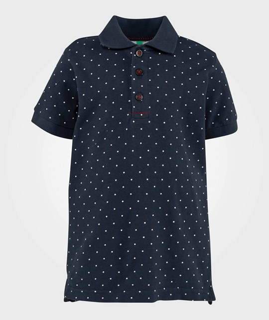 United Colors of Benetton Polo Shirt Navy NAVY 62L