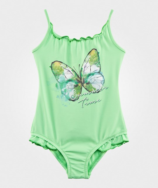 United Colors of Benetton Butterfly Swimsuit Green GREEN 434