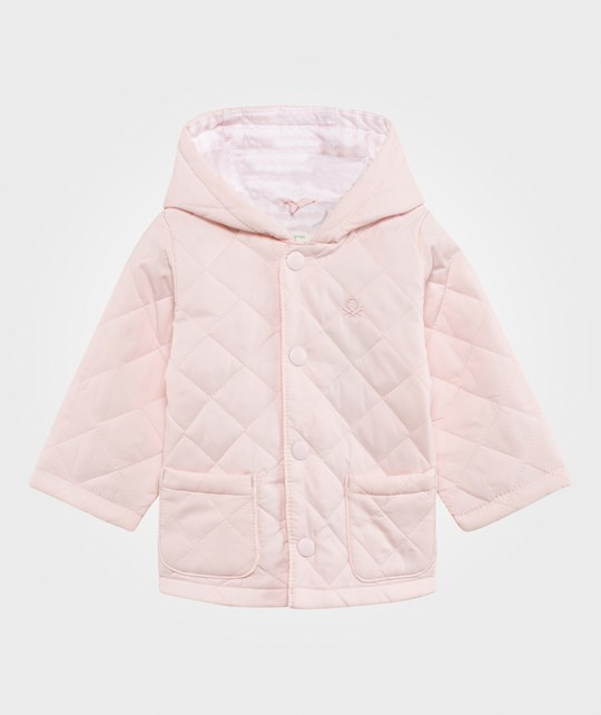 United Colors of Benetton Quilted Barn Jacket Pink PINK 003