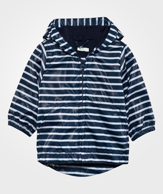 United Colors of Benetton Striped Jacket Navy NAVY 904