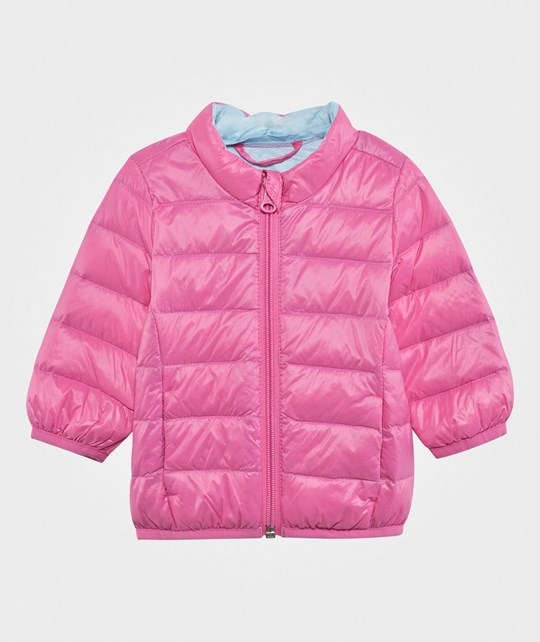 United Colors of Benetton Puffa Jacket Candy Pink CANDY PINK 1K8