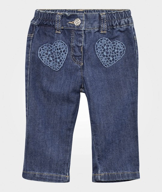 United Colors of Benetton Denim Trouser Mid Wash MID WASH 968