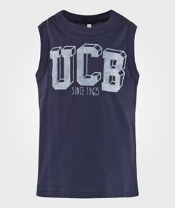 United Colors of Benetton Logo Tank-Top Navy
