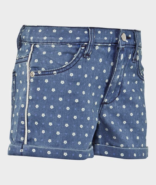 United Colors of Benetton Floral Denim Blue BLUE 901