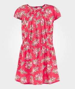 United Colors of Benetton Floral Dress Fuchsia