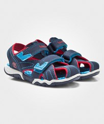 Timberland Adventure Seeker Closed Toe Sandal Navy/Red Blue
