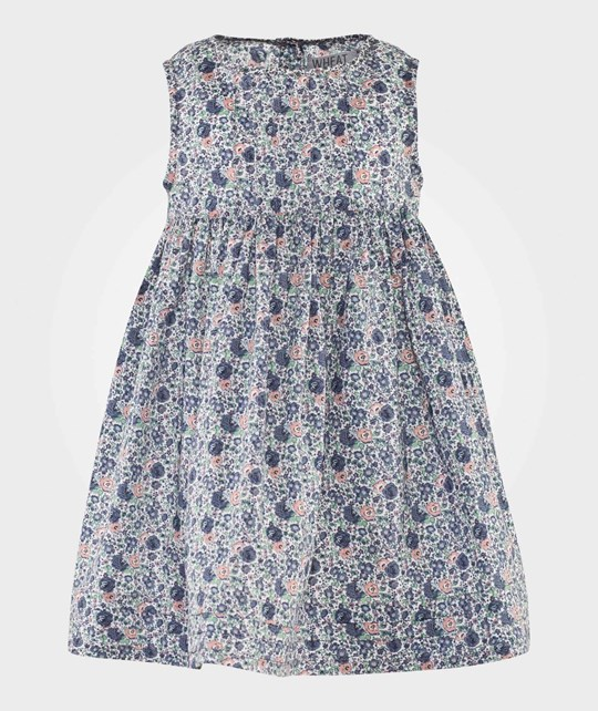 Wheat Mille Pinafore Dress Blue Blue