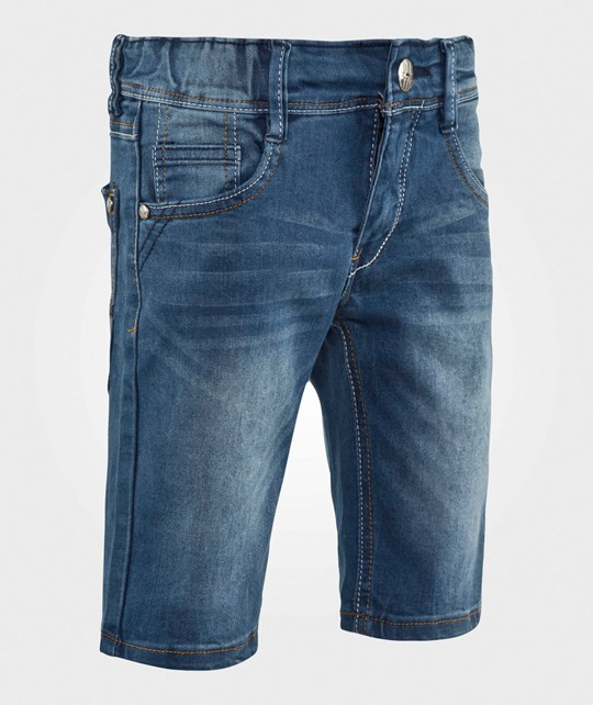 Me Too Frank 64 Long Shorts Blue Denim Blue Denim