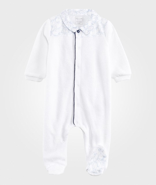 Carrément Beau Footed Baby Body White White