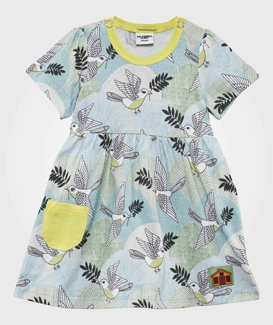 Modéerska Huset Baby Dress Peace Please Peace Please