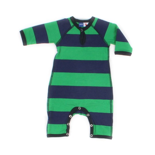 Molo Freddy Ginkgo Stripe Green
