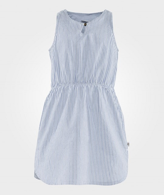ebbe Kids Paris Blue Dress Blue/Off White Stripes Blue/Offwh Stripe