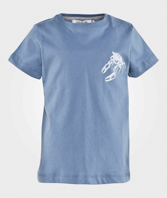 One We Like One T-Shirt Mr Crab Blue Sand