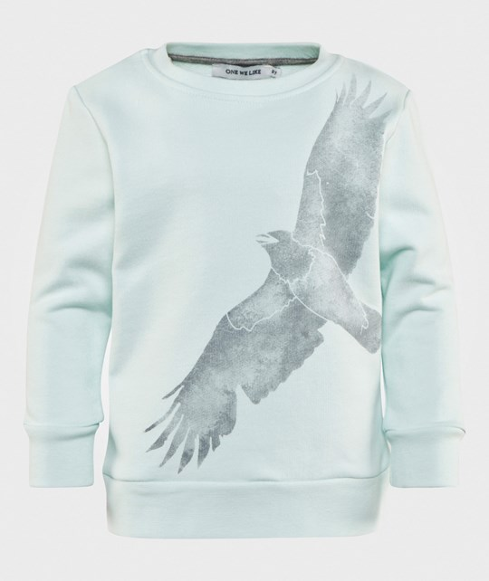 One We Like Basic Sweatshirt Crow Green Grøn