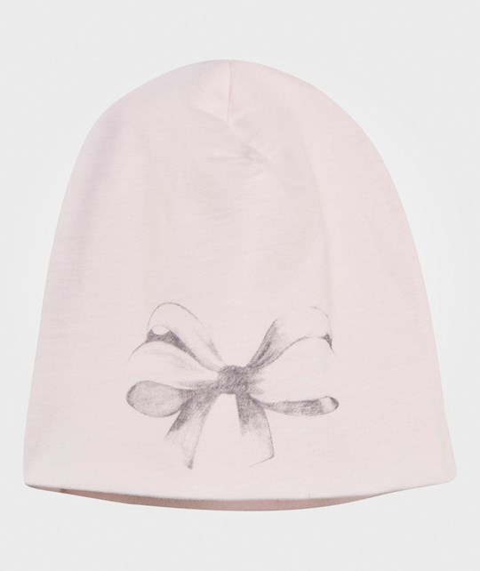 One We Like Hat Bow Pink Rosa