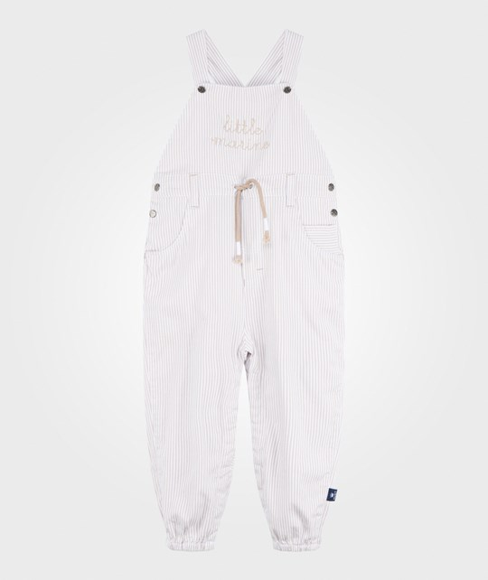 Hust&Claire Beaver Striped Overall  Beaver
