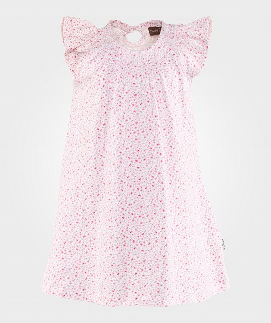 Hust&Claire Floral Dress White White