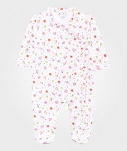 Kissy Kissy Candyland Print Footie with Ruffle