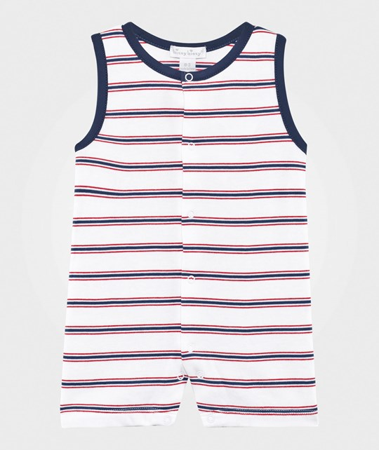 Kissy Kissy Nautical Mile Stripe Sleeveless Short Playsuit Nautical
