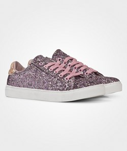 Petit by Sofie Schnoor Sneakers In Glitter Old Rose Mix