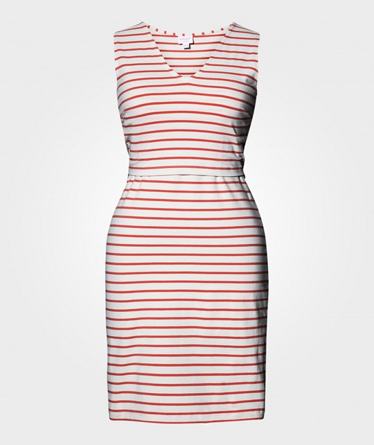 Boob Simone Sleeveless Dress Stripe Sailor Watermelon Multi