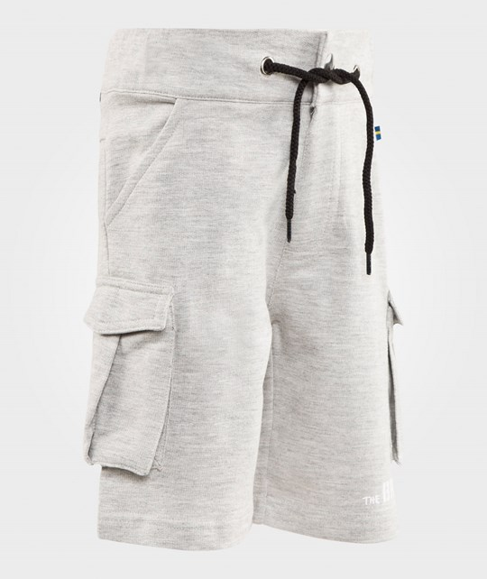 The BRAND Army Shorts Grey Melange Black