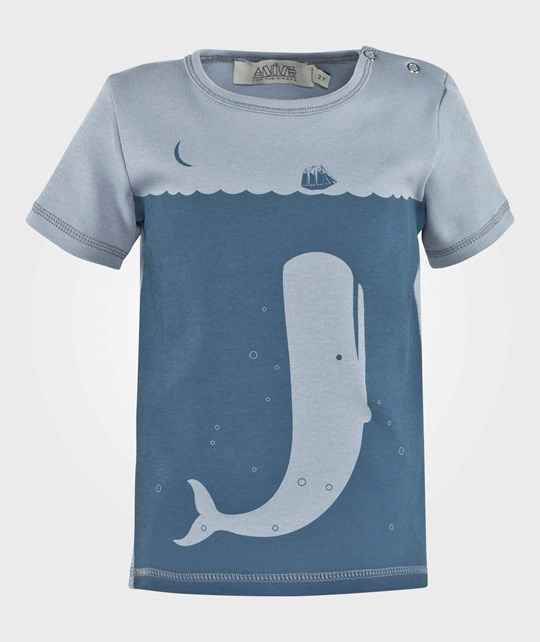 Anïve For The Minors Tiny Tee Blue