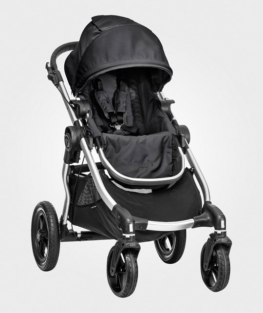 Baby Jogger City Select Single - Black/Silver frame Black