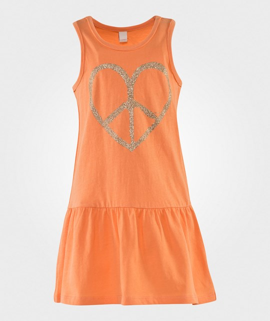 Esprit Jersey Tank Dress Orange Oransje