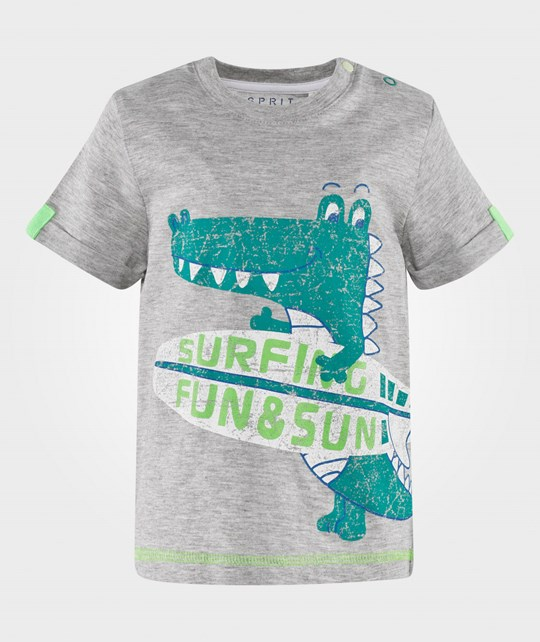 Esprit Fun & Sun T-Shirt Grey Medium Grey