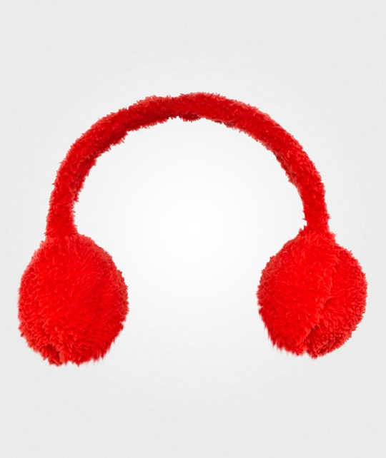 United Colors of Benetton Fluffy Ear Muffs Red Red