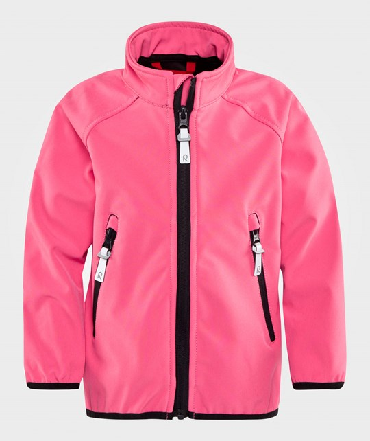 Reima Recharge Soft Shell Jacket Pink Rose Pink Rose