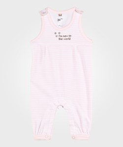 Hust&Claire Velour Overall Soft Rose