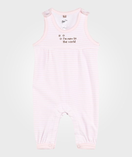 Hust&Claire Velour Overall Soft Rose Soft Rose