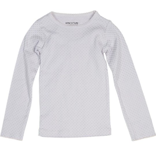 Mini A Ture Eli T-shirt Misty Lilac Purple