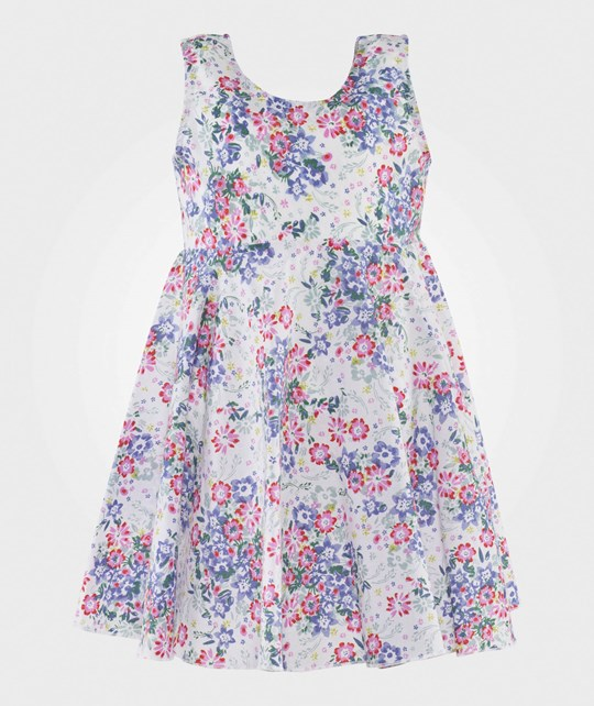 United Colors of Benetton Floral Dress White WHITE 901