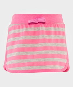 United Colors of Benetton Stripe Jersey Skirt Pink