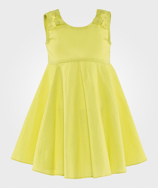 United Colors of Benetton Dress Lime YELLOW 28M